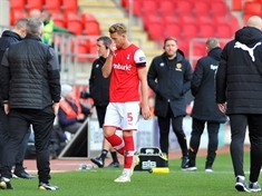 'Shocking tackle' says Grant McCann as Rotherham United's Adam Thompson is sent off