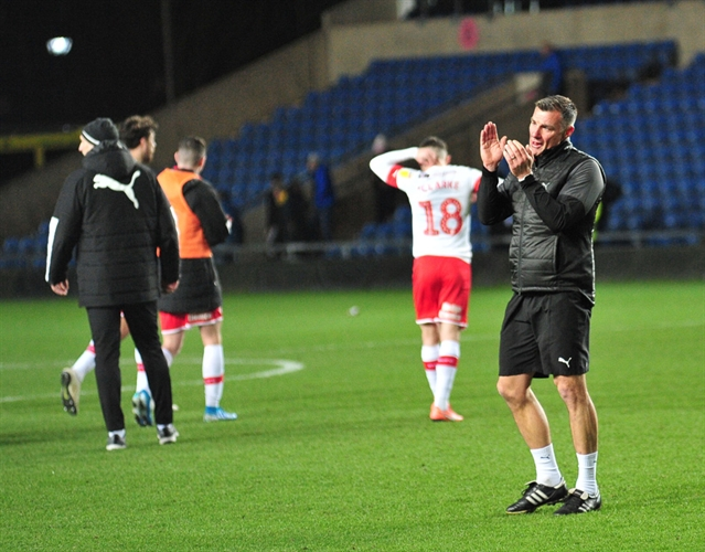 That tribute, those fans, that team and Richie Barker's tears as the Millers go top of League One ... the story of Oxford United 1 Rotherham United 3