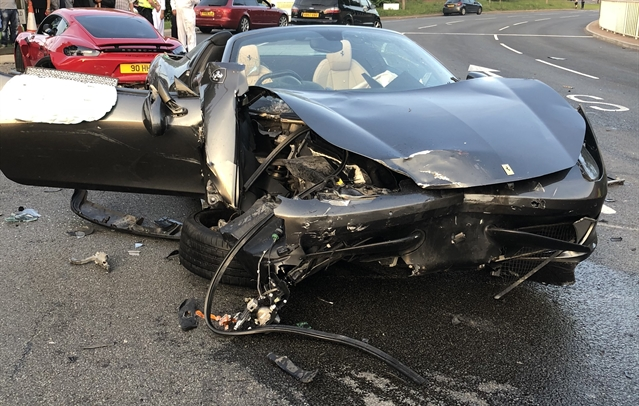 Suspended sentences for smashed supercar drivers