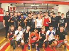 Countdown to amateur boxing night at Greasbrough