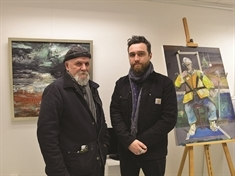 Master and student's work on show at Rotherham art exhibition