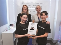 Young dance duo's demonstrations fund sensory room at Herringthorpe school