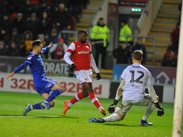'Home and away we have played well against them and taken six points off possibly the best team in the league' ... Paul Warne reacts to Rotherham United being League One top-dogs again