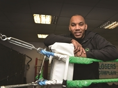 BOXING IN THE BLOOD...ex-champion Junior Witter on quest to help the next generation of fighters at his Rotherham gym