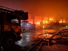 'No asbestos risk' from large Kiveton Park fire