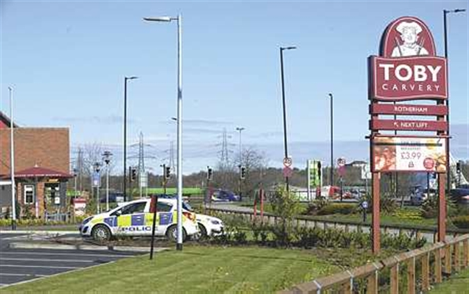 Toby Carvery staff robbed at gunpoint