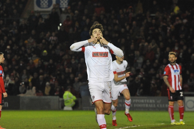 The win, the white kit, the weekend off, the away end and six points clear ... the story of Lincoln City 0 Rotherham United 1