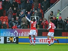 The frustration, the ref, Storm Dennis and the late penalty ... the story of Rotherham United 2 AFC Wimbledon 2