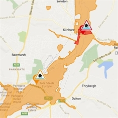 Flood alerts issued across Rotherham