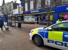 Rotherham town centre workers 'tied up and robbed' this morning