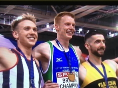 Pole vaulter Adam Hague claims British Indoor crown