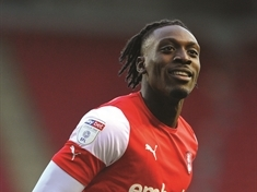 Rotherham United striker Freddie Ladapo up for League One Player of the Month Award