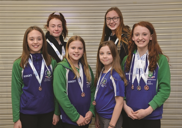 Rotherham Metro swimmers race to honours at county championships