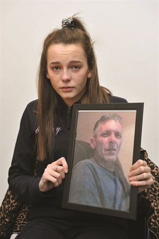 Daughter tells of agony over dad's disappearance