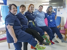 People in Rotherham urged to rock their odd socks for World Down's Syndrome Day
