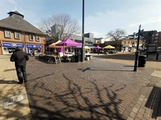 Rotherham's street market open today 'but reduced in size'