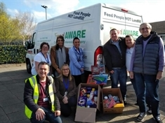 Coronavirus: Foodbank supplies hit by panic buyers