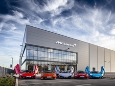 Coronavirus: Supercar giant McLaren donates facemasks to NHS