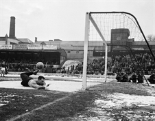 FOOTBALL ON ICE...a look back to how Rotherham United coped with the big freeze of 1963