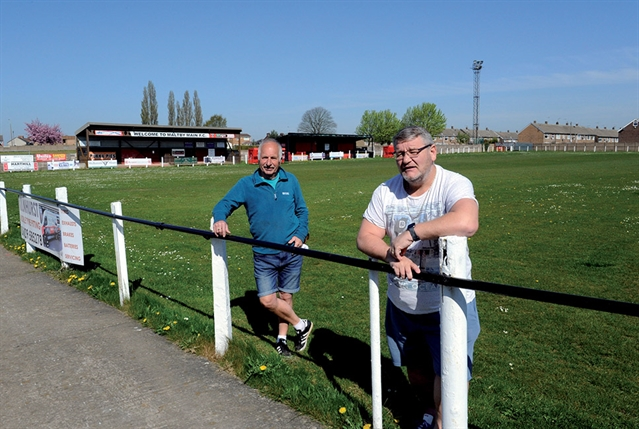 Groundsman Jim (80) dips into pension to maintain Maltby Main pitches