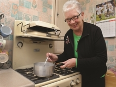 Val's back with her 1950s cooker