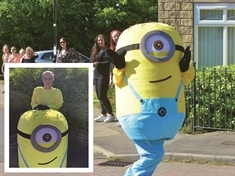 Minion Natalie is unlocking smiles in Rotherham