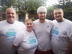 Head-shavers bring fundraising cheer after Joe's brain tumour disgnosis