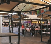RESTARTING ROTHERHAM: Outdoor market back in business