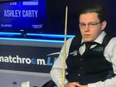 Snooker: Rotherham's Ashley Carty stuns two former world champions in comeback tournament
