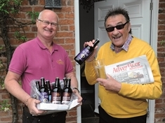 To me, to brew — Chuckle Paul and Chantry join our #RestartingRotherham campaign