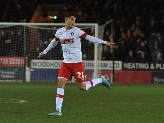 Rotherham United forward Jerry Yates attracting interest from Blackpool