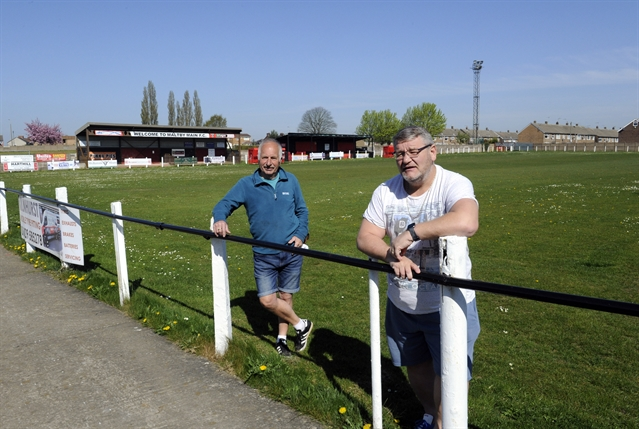 Uncertainty and shock as landlords repossess Maltby Main sports pitches
