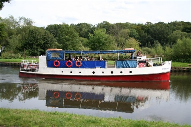Arson attack on Second World War vessel in Sprotbrough