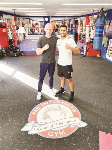 Nav Mansouri motivated to end Rotherham's 100-year wait for a British boxing champion