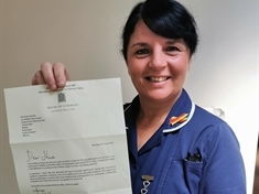 Nursing team receives special thank you from MP
