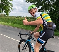 Pedal power to the fore as Andy takes on Tour de Yorkshire challenge