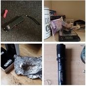 Drugs, weapons and cash seized in crime crackdown across Rotherham