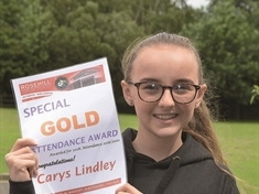 100 per cent record for school-loving student