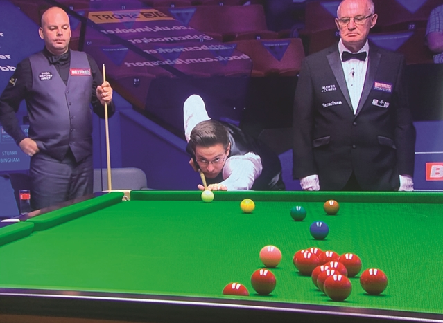 'Best two weeks of my life,' says Ashley Carty after Crucible debut