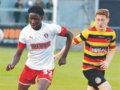 Rotherham United prospect Josh Kayode  returns to Carlisle on loan