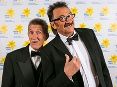 'I feel Barry's with me all the time' — Chuckle Paul on second anniversary of brother's death