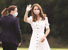Kate's flying visit to Rotherham