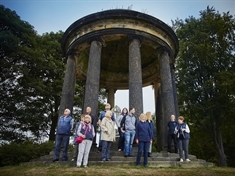 Guided garden tours at historic stately home reopen