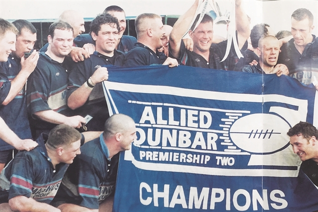 FEATURE: marking 20 years since Rotherham Rugby Club made its historic Premiership debut