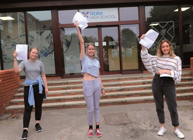 Pupils 'are caught in the Covid crossfire', says top head as A-level results collected
