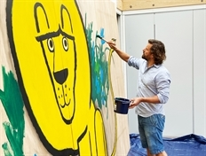 Museum gets Lion's share of new mural