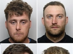 Four jailed for violence during street brawl in Rotherham town centre
