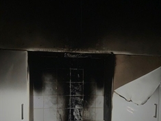 Man treated for smoke inhalation after chip pan fire
