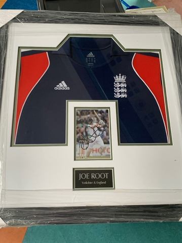 Signed Joe Root prize up for grabs in Rotherham Rugby Club fund-raiser