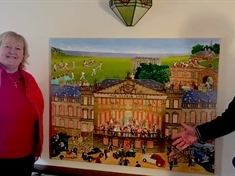Artists celebrate magnificent Wentworth Woodhouse